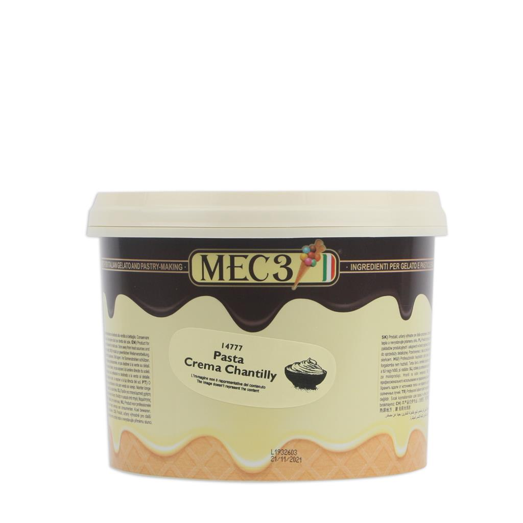 Crema chantilly pasta MEC3 2,8 kg